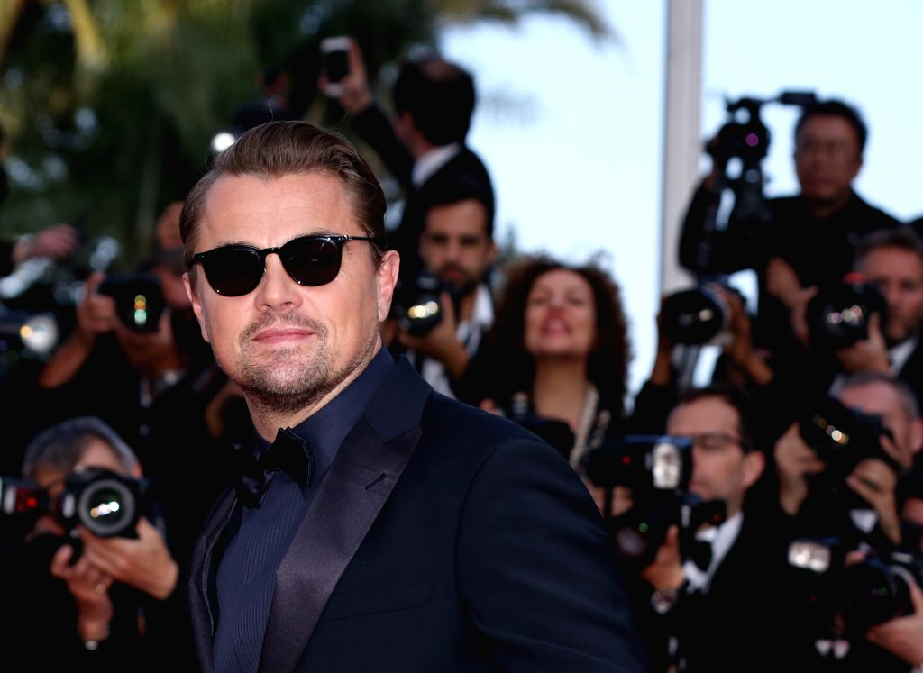 "CANNES, May 24, 2019 - Actor Leonardo Dicaprio attends the premiere of Marco Bellocchio-directed film ""The Traitor"" during the 72nd Cannes Film Festival in Cannes, France, May 23, 2019. ... - Leonardo Dicaprio"