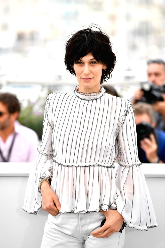 CANNES, May 26, 2017 - French actress, member of the jury, Clotilde Hesme, poses for a photocall in Cannes, France on May 26, 2017. The jury of Short Films and Cinefondation of the 70th Cannes Film ... - Clotilde Hesme