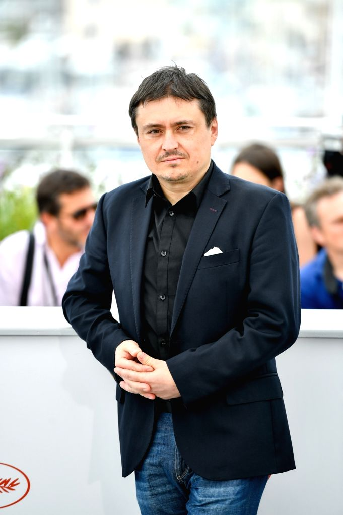 CANNES, May 26, 2017 - Romanian director, screenwriter, producer, president of the jury, Cristian Mungiu, poses for a photocall in Cannes, France on May 26, 2017. The jury of Short Films and ... - Clotilde Hesme