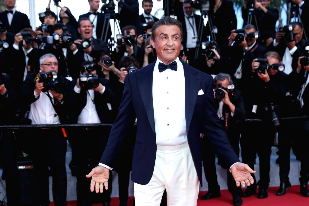 CANNES, May 26, 2019 - Actor Sylvester Stallone poses on the red carpet of the closing ceremony of the 72nd Cannes Film Festival, in Cannes, France, on May 25, 2019. The curtain of the 72nd edition ... - Sylvester Stallone