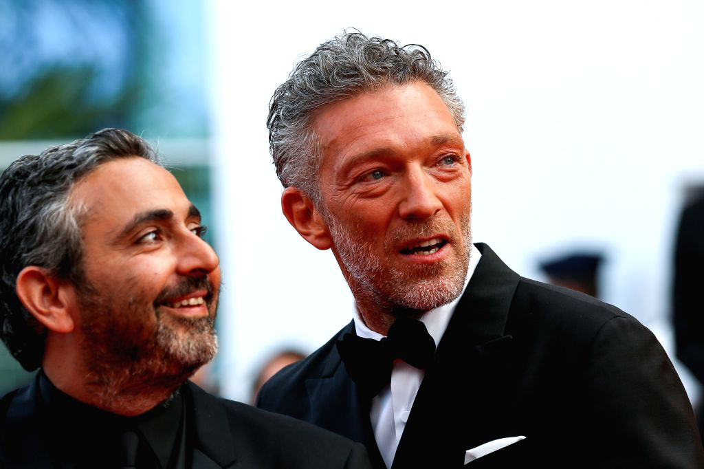 CANNES, May 26, 2019 - Actor Vincent Cassel (R) poses on the red carpet of the closing ceremony of the 72nd Cannes Film Festival, in Cannes, France, on May 25, 2019. The curtain of the 72nd edition ... - Vincent Cassel