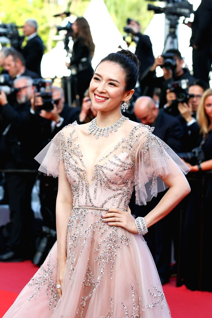 CANNES, May 26, 2019 - Actress Zhang Ziyi poses on the red carpet of the closing ceremony of the 72nd Cannes Film Festival, in Cannes, France, on May 25, 2019. The curtain of the 72nd edition of the ... - Zhang Ziyi