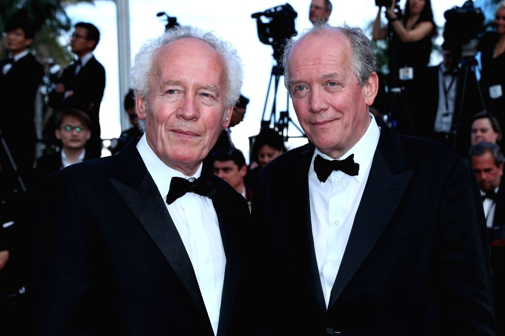 CANNES, May 26, 2019 - Directors Luc Dardenne and Jean-Pierre Dardenne pose on the red carpet of the closing ceremony of the 72nd Cannes Film Festival, in Cannes, France, on May 25, 2019. The curtain ...
