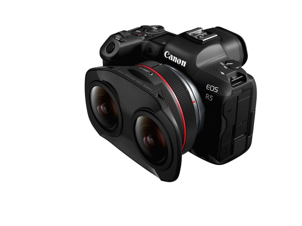 Canon announces its first VR video production system.