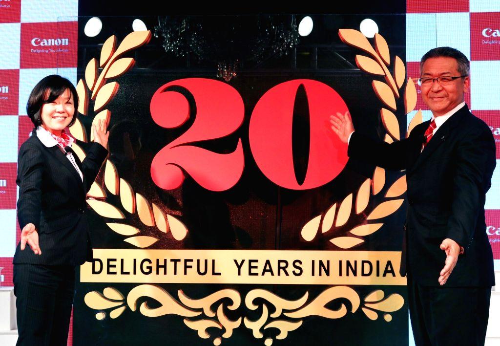 Canon India launches 20th anniversary logo