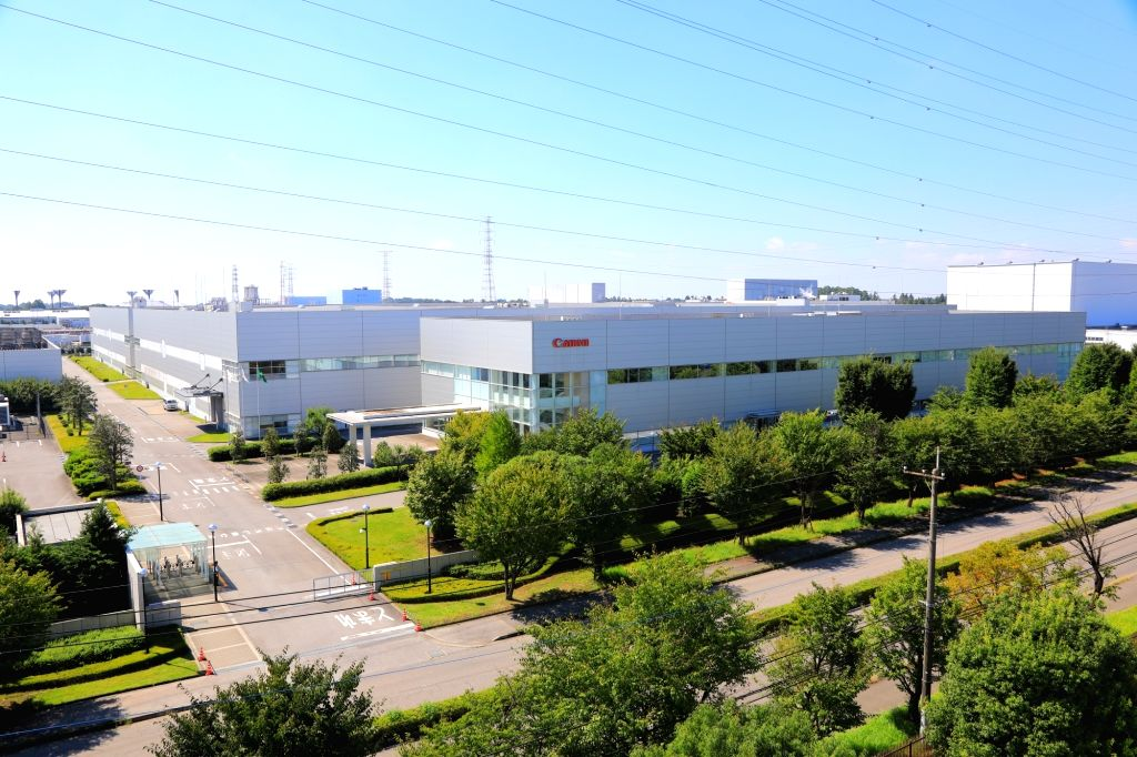 :Canon's manufacturing plant in Utsunomiya – the capital of Tochigi Prefecture in the Kanto region of Japanabout 100 km north of Tokyo..