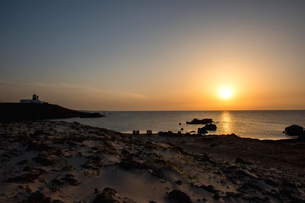 Cape Angela:  Photo taken on June 21, 2017 shows a view of the Cape Angela, known as the northernmost point of African continent, in Bizerte Governorate, Tunisia.