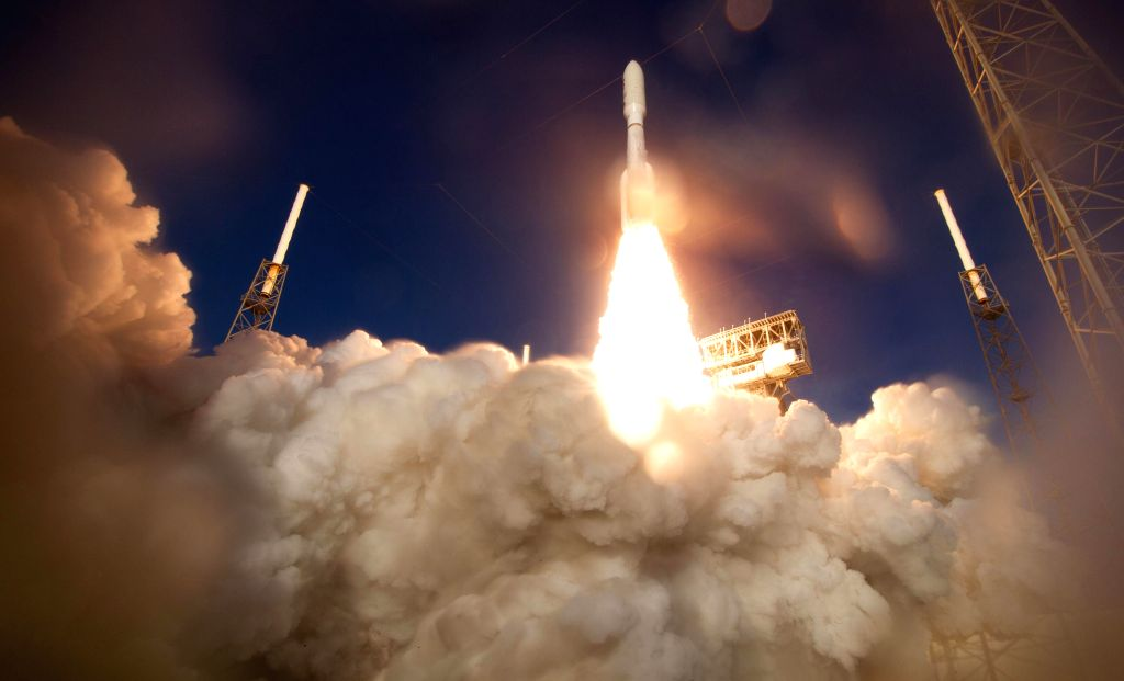 Cape Canaveral (U.S.), July 30, 2020 A United Launch Alliance Atlas V rocket with NASA's Mars rover Perseverance onboard launches from Space Launch Complex 41 at Cape Canaveral Air Force ...