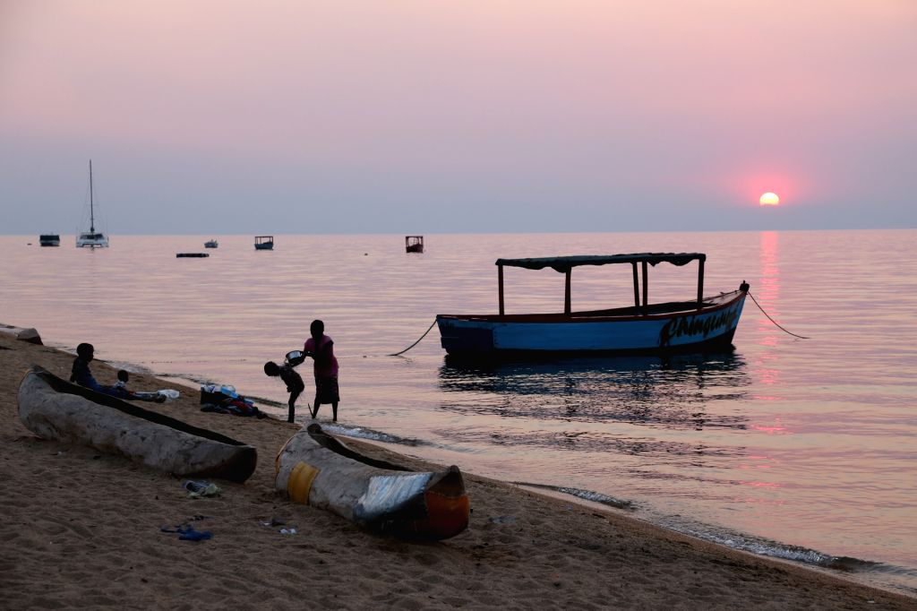 CAPE MACLEAR, Sept. 12, 2017 - The Malawi Lake is seen in Cape Maclear, Malawi, Sept. 11, 2017.