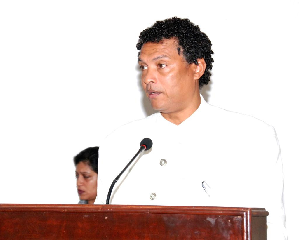 Cape Verde's minister for culture Mario Lucio Matias Sousa Mendes.