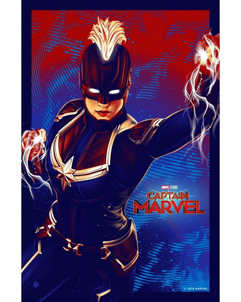 Captain Marvel. - Marvel