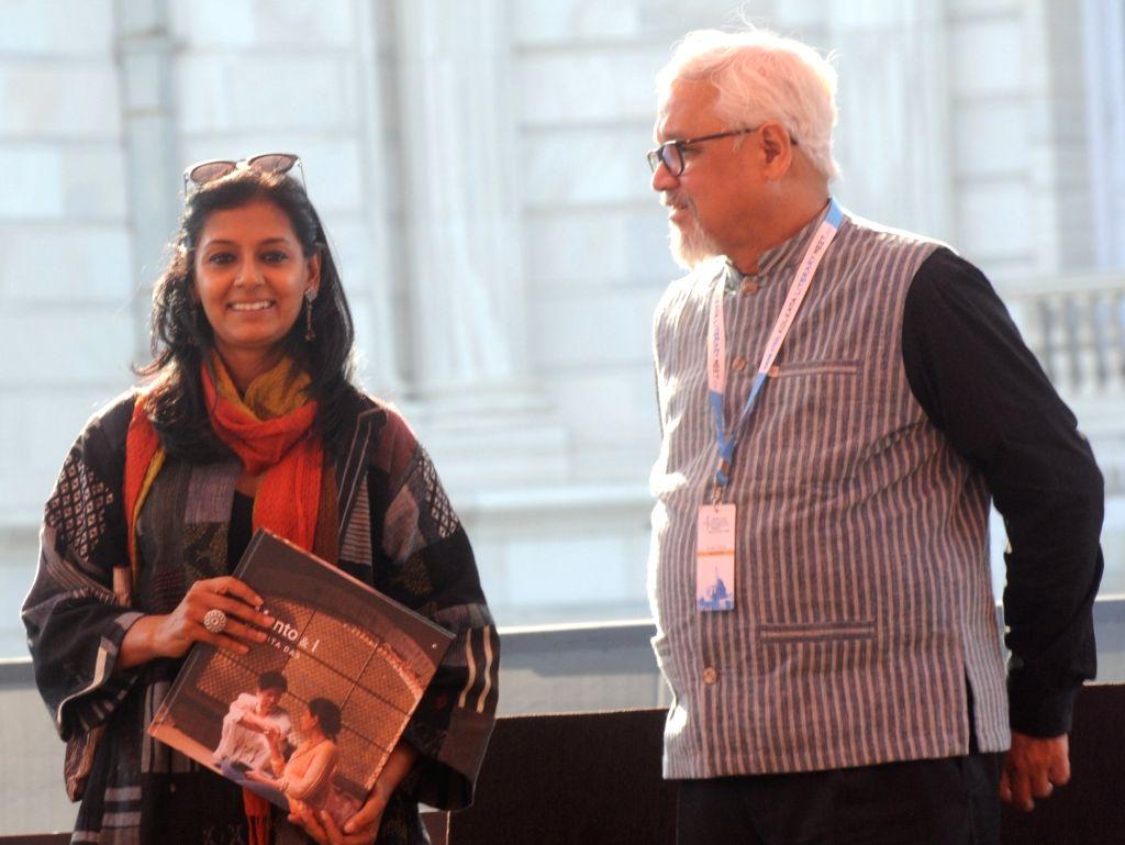 Caption: Actress Nandita Das at Kolkata Literary Meet, on Jan 24, 2020. - Nandita Das