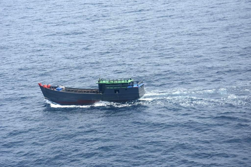 Car Nicobar: The Indian Coast Guard (ICG) seized contraband drugs worth Rs 300 crore from a Myanmar ship in the Indian Ocean region. According to the ICG officials, the cargo was suspected to be part ...