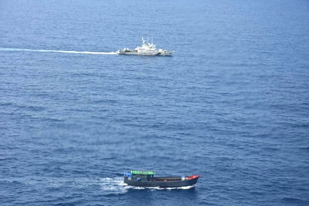 Car Nicobar: The Indian Coast Guard (ICG) seized contraband drugs worth Rs 300 crore from a Myanmar ship in the Indian Ocean region. According to the ICG officials, the cargo was suspected to be part of a larger drug networking cartel operating in th