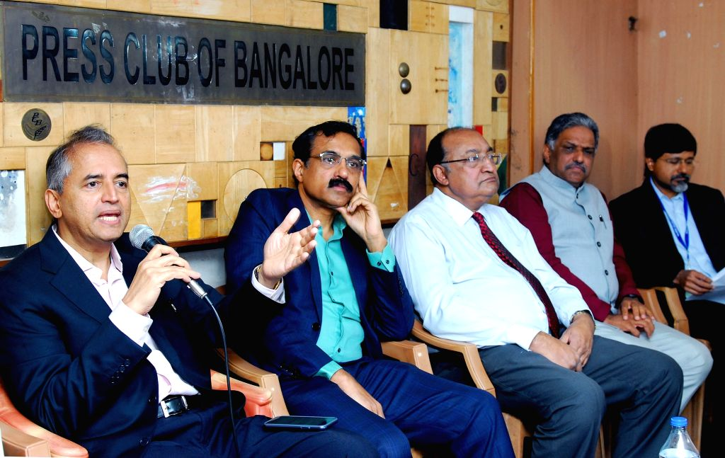 Cardiologist Dr. Devi Shetty with Karnataka State President Association of Healthcare Providers of India President B S Ajaikumar and The Consortium of Accredited Healthcare Organizations ... - Shetty