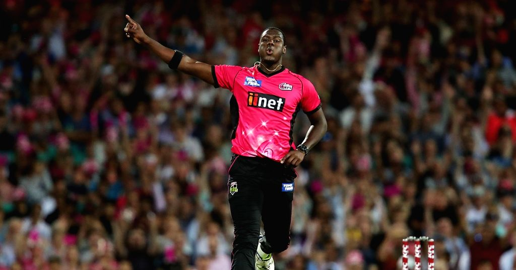 Carlos Brathwaite signs up with Sydney Sixers