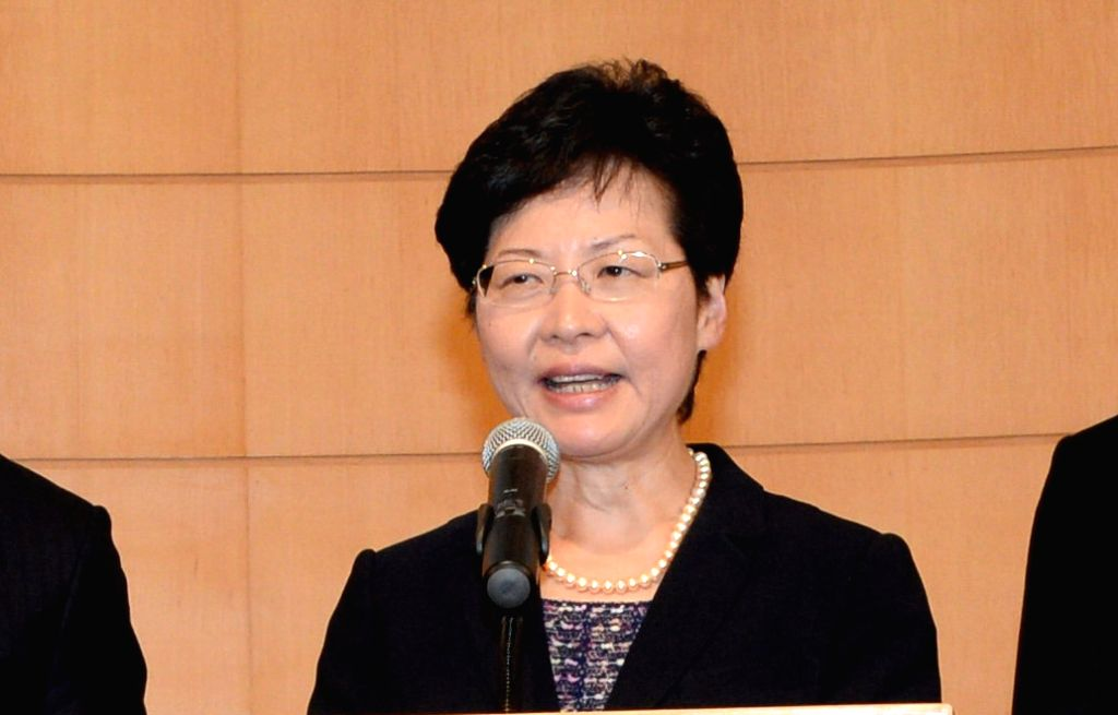 Carrie Lam. (File Photo: IANS)
