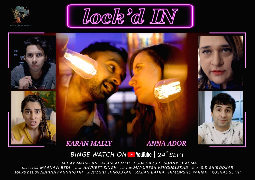 Casting director Karan Mally to play lead in web series 'Lock'd IN' - Karan Mally