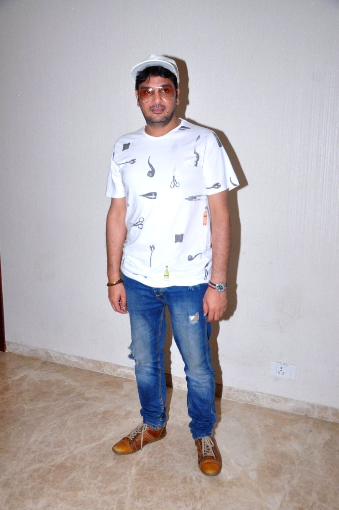 Casting director Mukesh Chabra during the special screening of the movie Parched in Mumbai on Sept. 19, 2016. - Mukesh Chabra