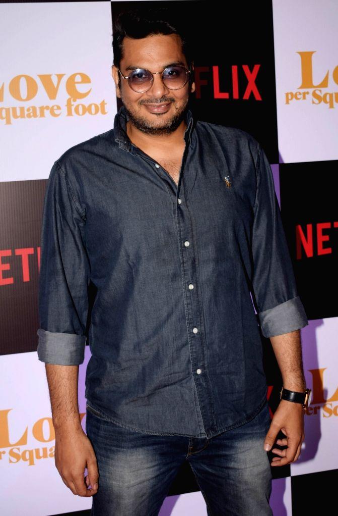 "Casting director Mukesh Chhabra at the screening of film ""Love Per Square Foot"" in Mumbai on Feb 11, 2018. - Mukesh Chhabra"