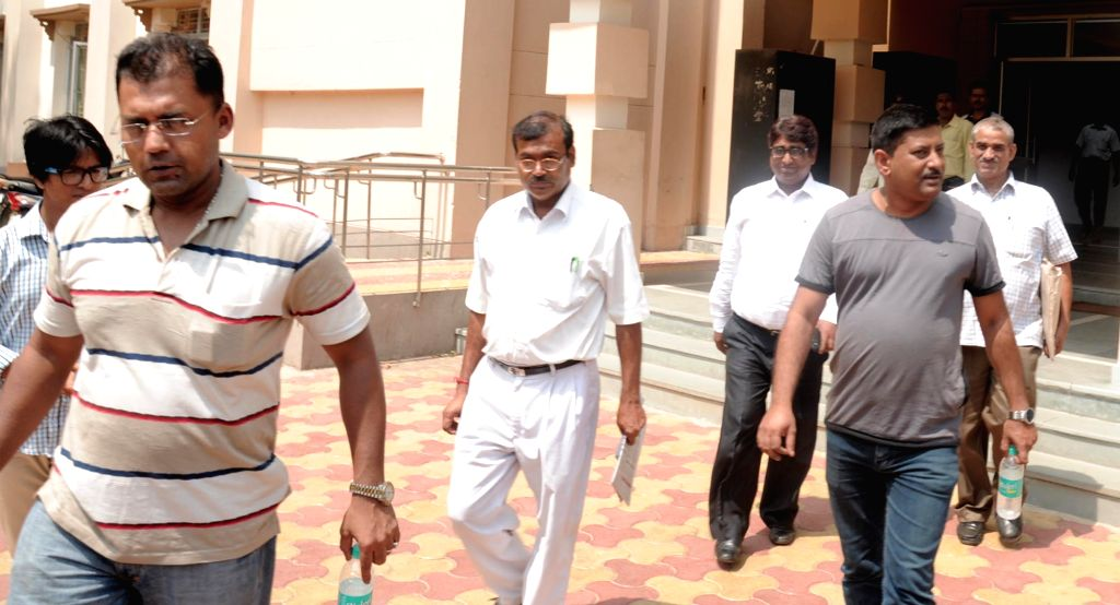 CBI team raids Visva Bharati University office in West Bengal's Santiniketan on May 24, 2016.