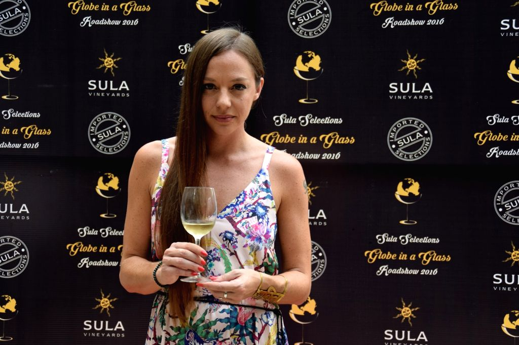 Cecilia Oldne VP Marketing and Global Brand Ambassador Sula Vineyards at the roadshow