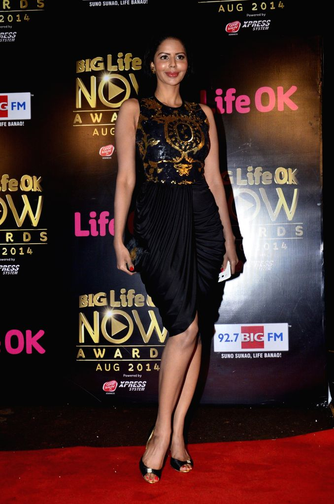 Celeb during the Big Life Ok Now Awards in Mumbai, on August 3, 2014.
