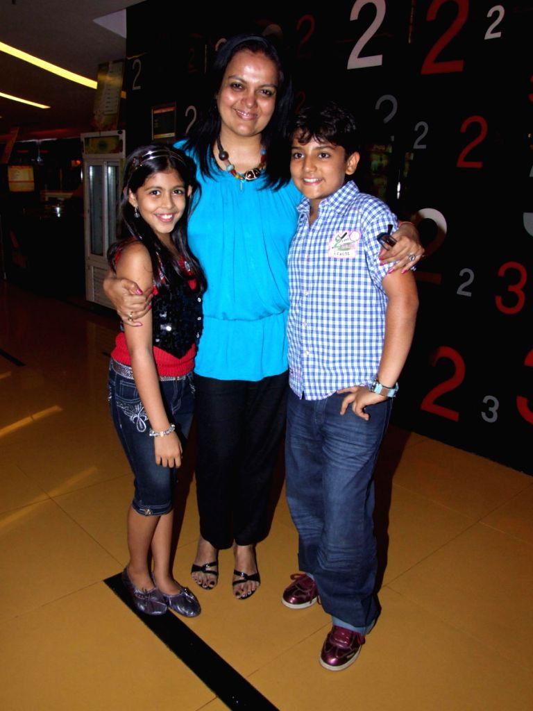 Celebrity at Maruti Mera Dost film Premiere at Fame in Mumbai.
