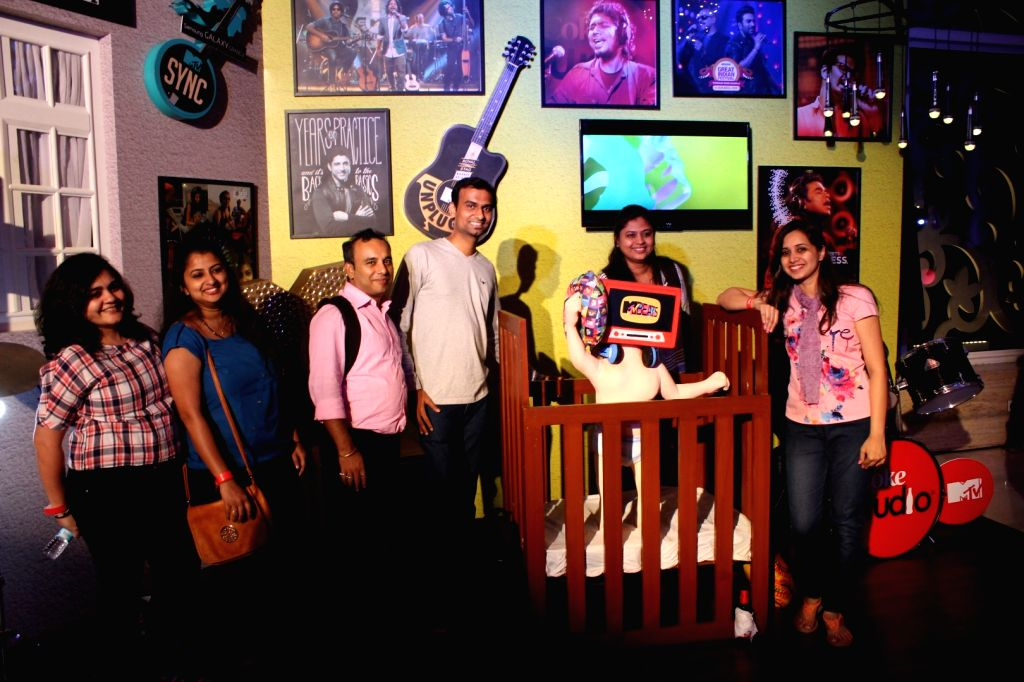 Celebs during the launch of music channel MTV Beast in Mumbai on March 3, 2017.