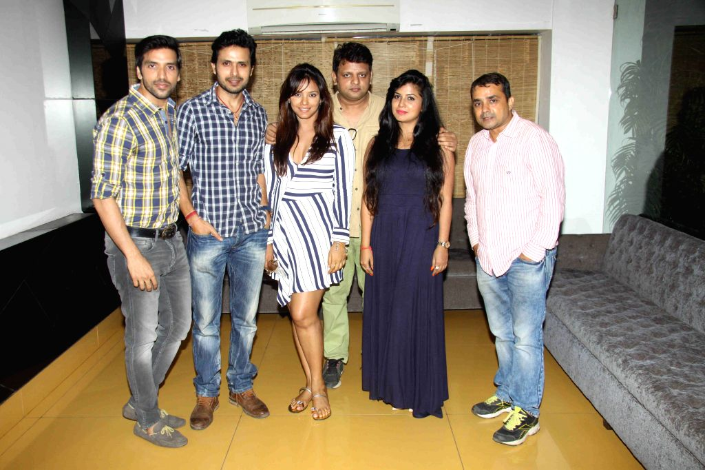 Celebs during the screening of film Once Upon A Time in Mumbai on Oct 26, 2015.