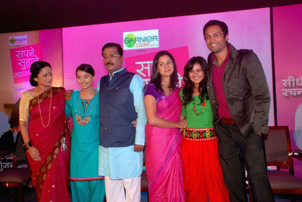 Celebs on Sapne Suhane serial launch in Mumbai