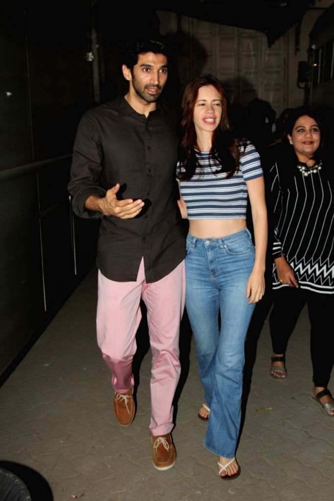 Celebs spotted at Mehboob Studio in Bandra, in Mumbai, on Jan 20, 2016.