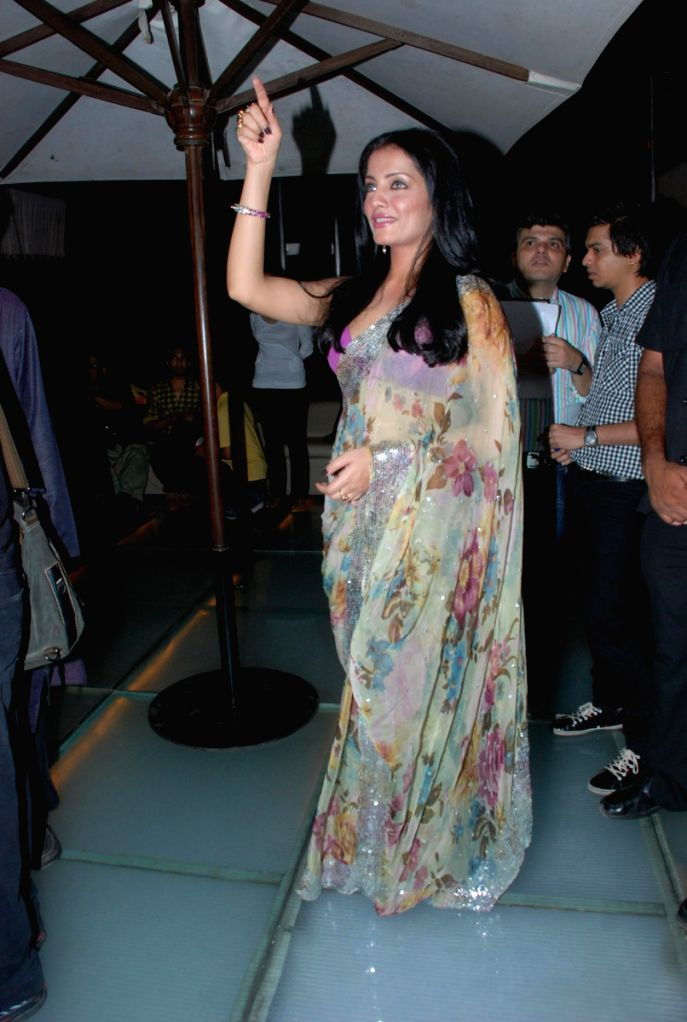 Celina Jaitley at Kashish Queer Film Festival Pre Launch bash at Vie Lounge.