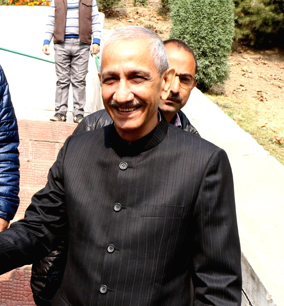 Central government's special representative on Jammu and Kashmir Dineshwar Sharma. (File Photo: IANS) - Dineshwar Sharma