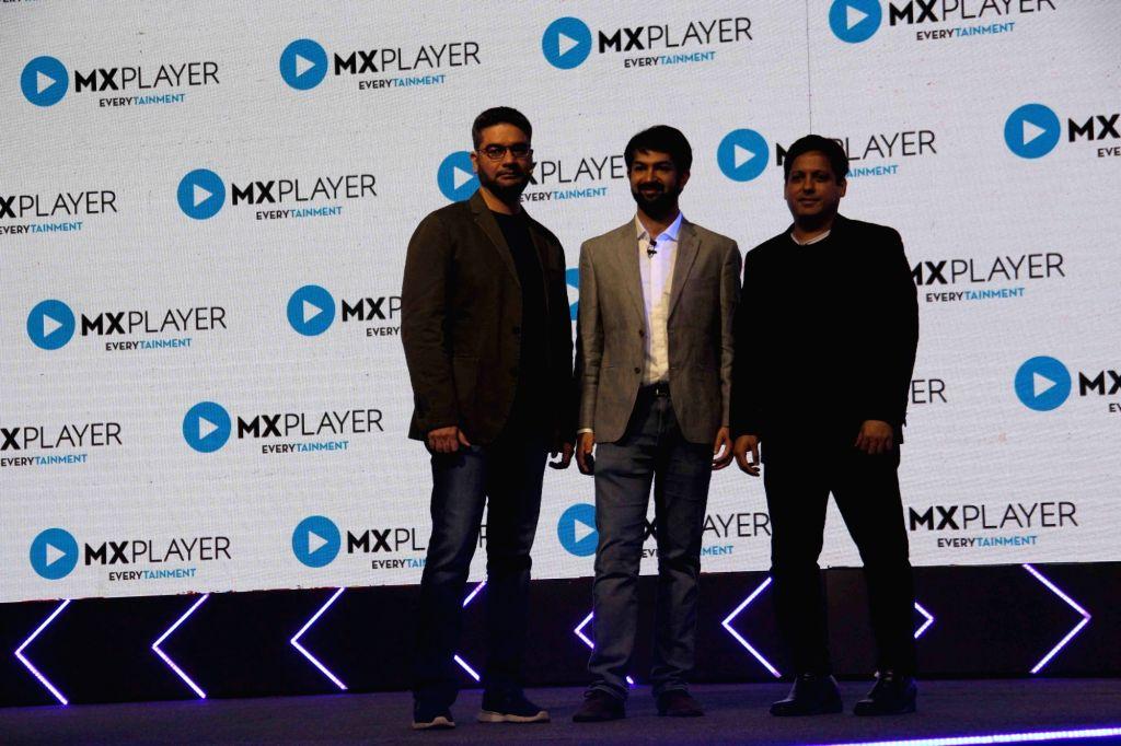 CEO of MX Player Karan Bedi during the launch of first five MX Original Series in Mumbai on Feb 19, 2019. - Karan Bedi