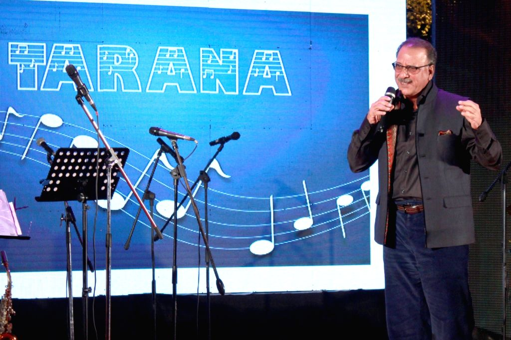 CEO`s sings for GF Kids at a fundraising event of Genesis Foundation`s (GF) Kids, in New Delhi on Nov 21, 2015.