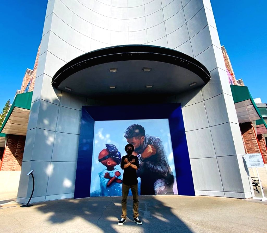 Chadwick Boseman honoured at Disneyland