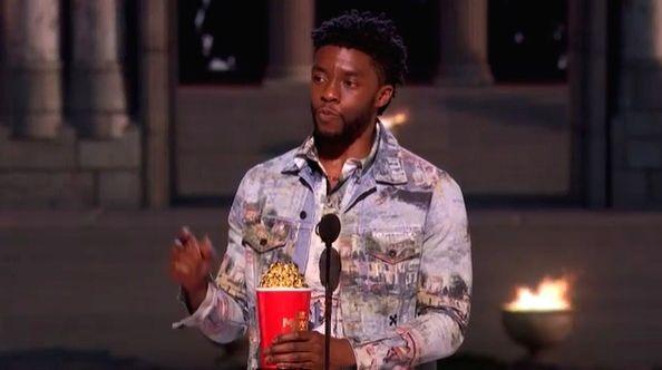 Chadwick Boseman honoured at MTV VMAs