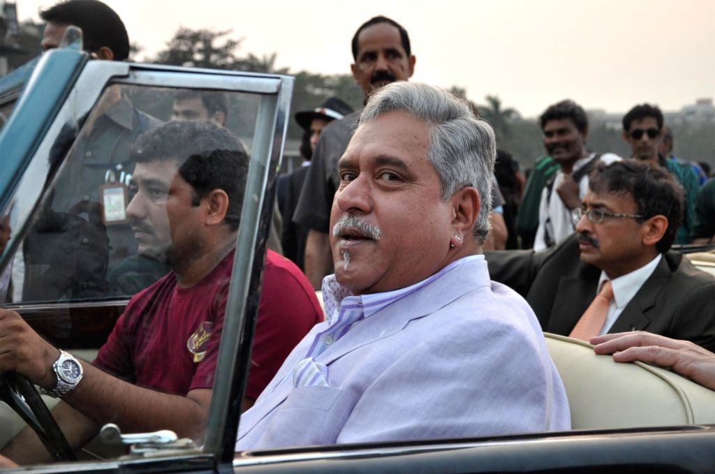 Chairman of UB Group Vijay Mallya at McDowell Signature Premium Indian Derby 2013 in Mahalaxmi Race Course, Mumbai on Sunday, February 3rd, evening. - Vijay Mallya