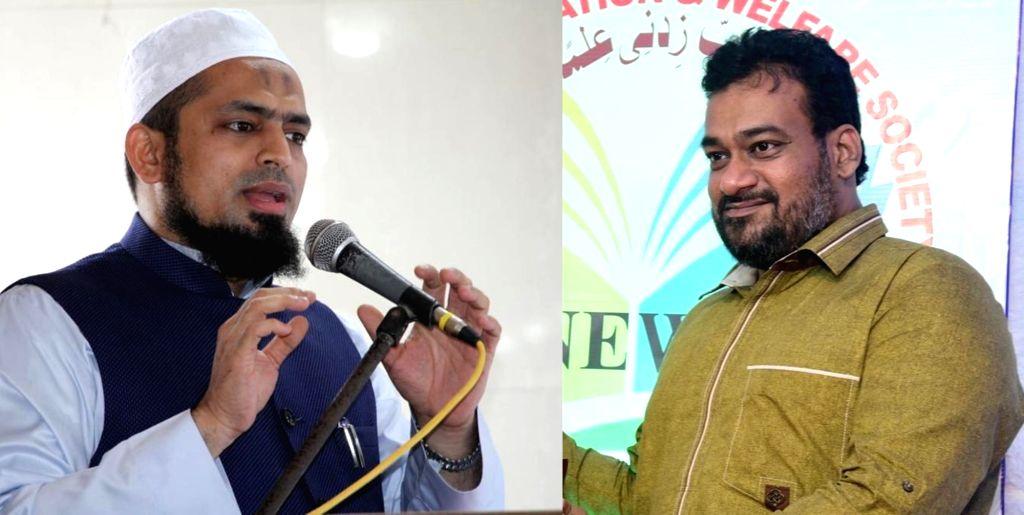 CHAIRMAN SHUAIB KHATIB and Chief Mufti ASHFAQ KAZI. - Mufti A