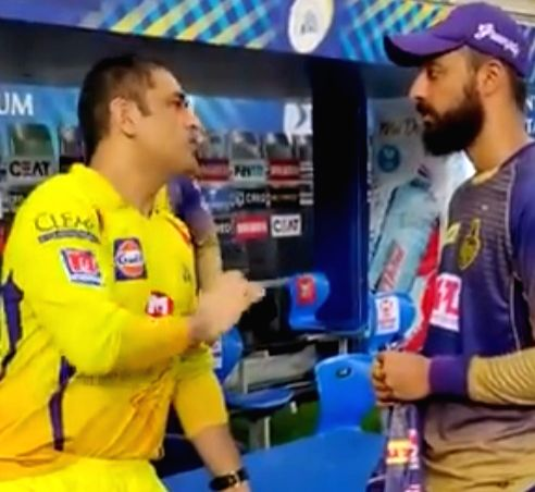 Chakravarthy takes tips from MS post CSK-KKR game