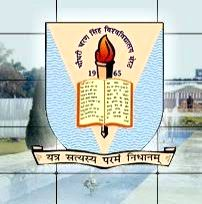 Chaudhary Charan Singh University, Meerut.