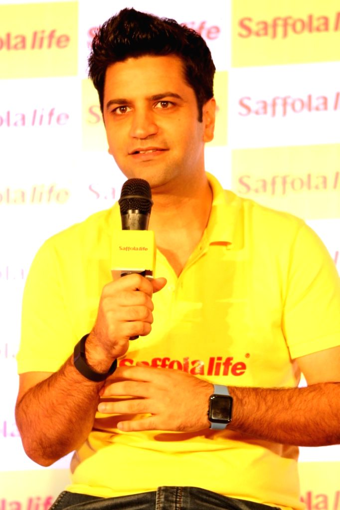 Chef Kunal during the World Heart Day program organized by Saffola Life in Mumbai, on Sep 28, 2016.
