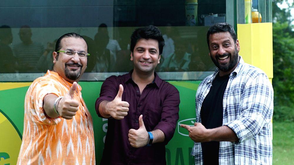 Chef Kunal Kapoor, Rocky and Mayur. - Kunal Kapoor
