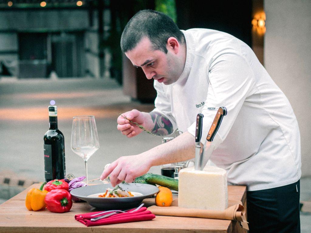 Chef Marco Murenu.