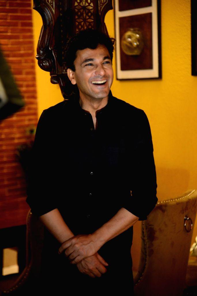 Chef Vikas Khanna during his visit to a restaurant in Mumbai's Andheri on July 28, 2019. - Vikas Khanna