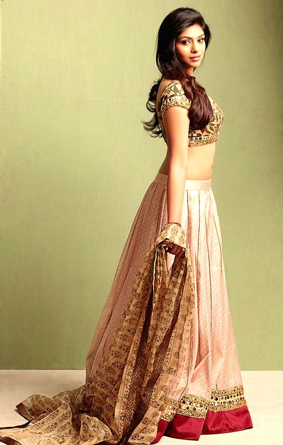 Actress Lakshmi Devy poses during a photo shoot.