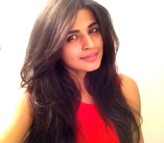 Actress Nirmala Kumari during the photo shoot.