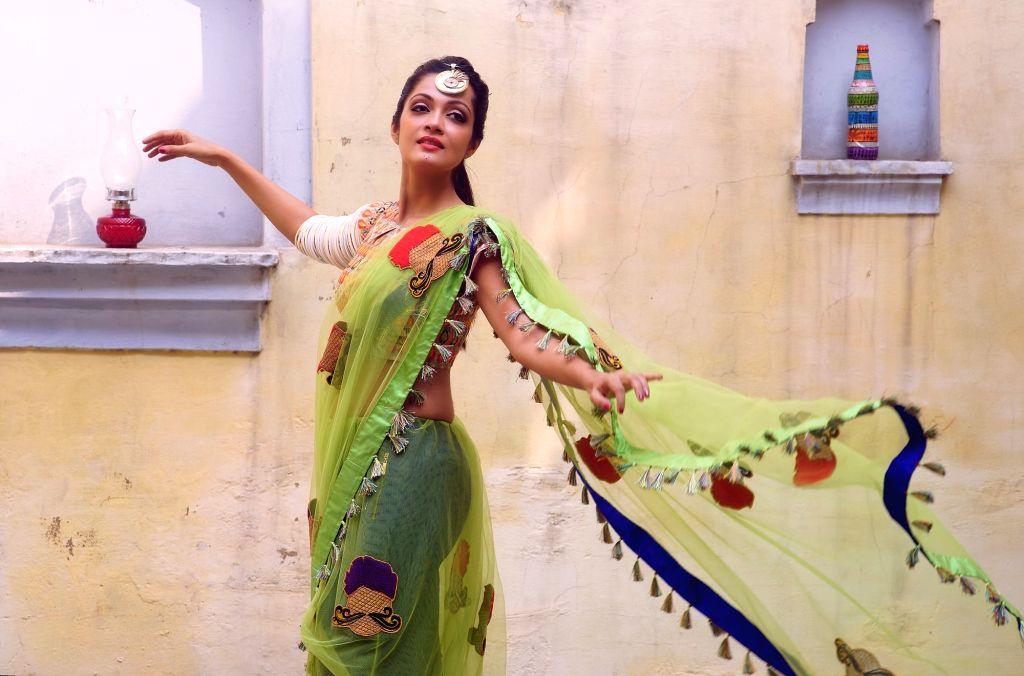 Chennai: Actress Sheena Chohan during the photo shoot (Photo: IANS) - Sheena Chohan