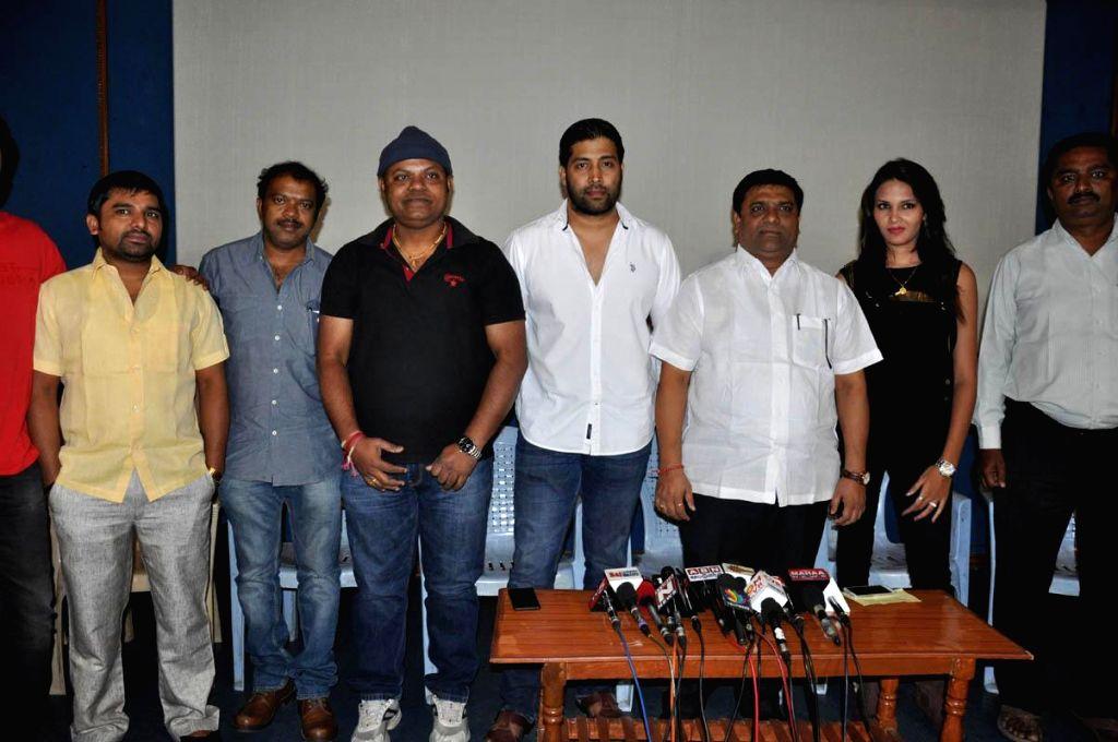 Anandam Malli Modalaindi Press meet held in Hyderabad, on March 5, 2015.